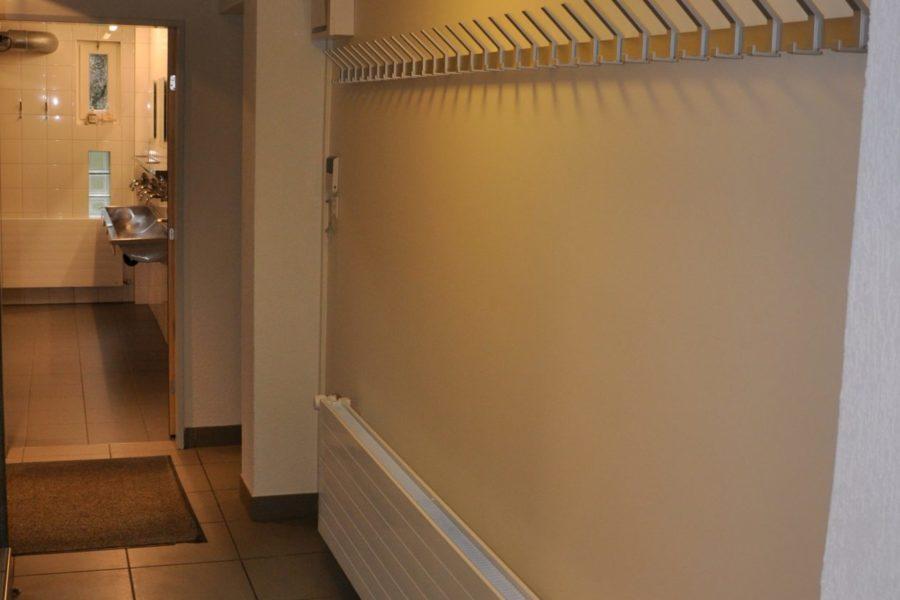 Garderobe oben