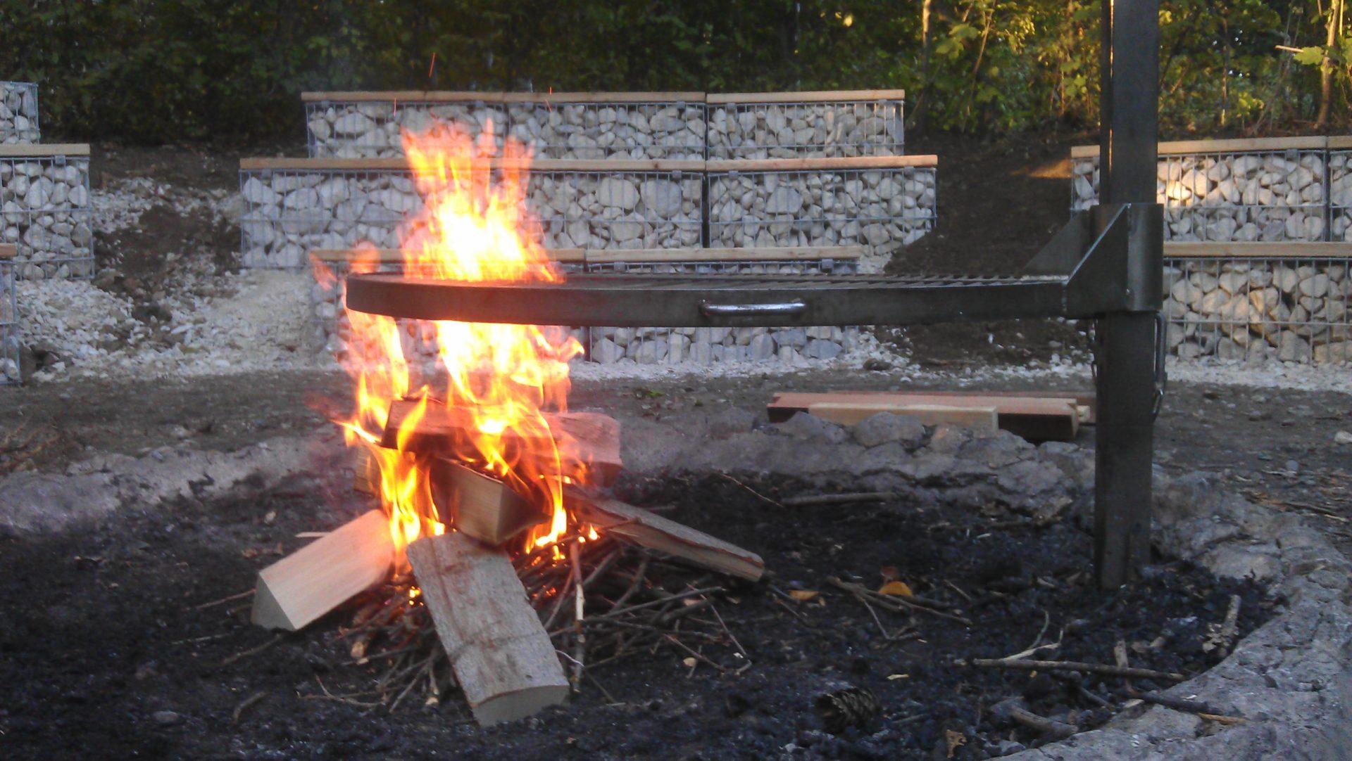 Arena Feuerstelle